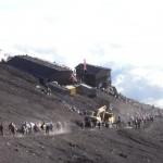 富士山に登ってきました(4) ~ 下山