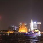 上海浦東・黄浦江の夜景