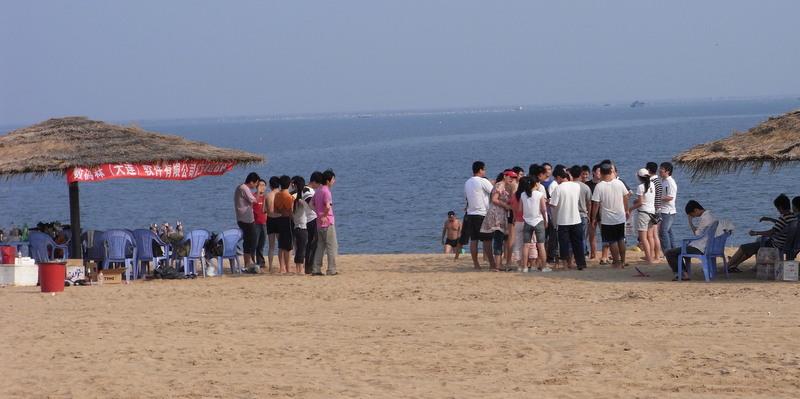 金石灘で夏のBBQ